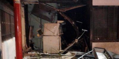 Prisión preventiva para presunto autor de la explosión a un cajero