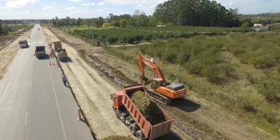La doble vía de Ruta 8 quedará finalizada en marzo de 2019