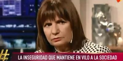 """Ministra Bullrich dijo que """"Montevideo tiene más asesinatos que Argentina"""""""