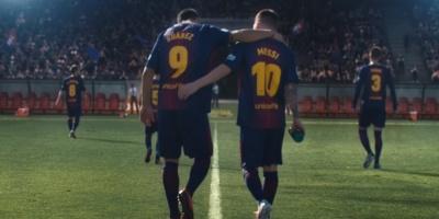 Suárez y Messi ¿enfrentados?