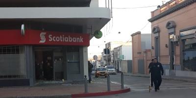 Explotaron un cajero automático en San José