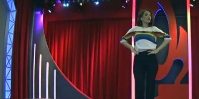 Oreiro sorprendió con bandera LGBTI en Rusia