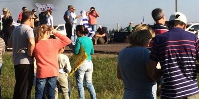 Inseguridad: Siguen las movilizaciones en Canelones
