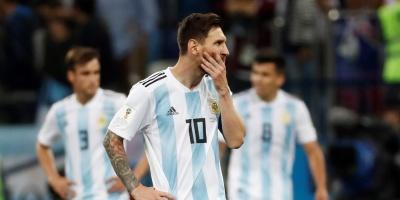 Argentina perdió por goleada 3 a 0 ante Croacia