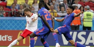 Colombia golea a Polonia y mantiene vivo el sueño en Rusia
