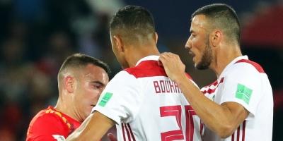España y Marruecos empataron 2 a 2