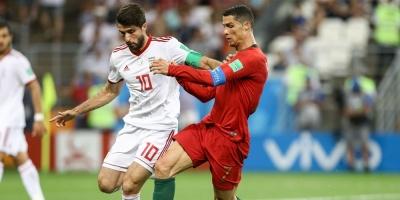 Irán empató de penal 1 a 1 (por el VAR) y dejó a Portugal segundo