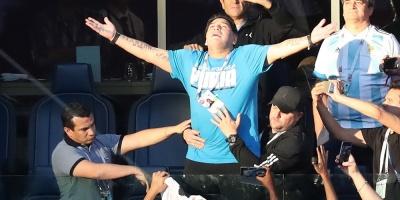 """Maradona: """"Ni inyección, ni nada"""""""