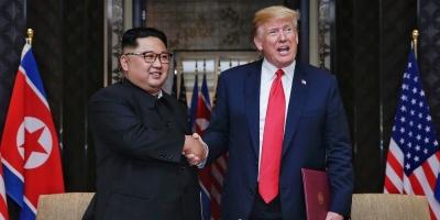 """Trump: EE.UU. estaría """"en guerra"""" con Corea del Norte si no fuera por mí"""