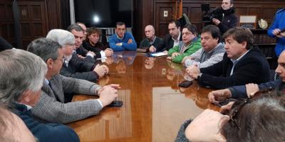 Inseguridad ciudadana: ministro Bonomi se reunió con legisladores de Canelones y el intendente Orsi