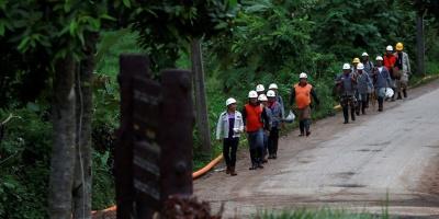Completado el rescate de 12 niños y un tutor atrapados en cueva de Tailandia