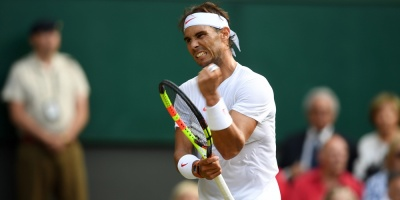 Ganó Nadal y es semifinalista en Wimbledon
