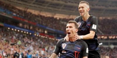 Croacia le ganó a Inglaterra 2 a 1 en el alargue y es finalista