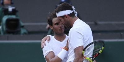 """Del Potro: """"Nadal se mereció ganar de nuevo"""""""
