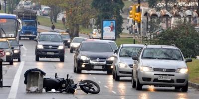 Hubo 26 fallecidos más en accidentes de tránsito en 2018, que en 2017
