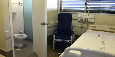 Pereira Rossell tiene 16 nuevas salas de aislamiento para casos infectocontagiosos