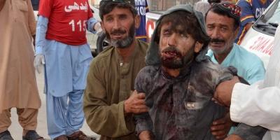 Luto oficial tras atentado de EI con 128 muertos en acto electoral paquistaní