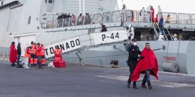 España supera a Italia en llegadas de inmigrantes tras cruzar el Mediterráneo