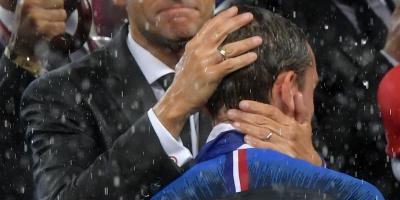 Vázquez felicita a Macron y a Griezmann tras ganar el Mundial