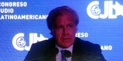 Almagro: países de la región deben colaborar con Argentina por atentado a la AMIA