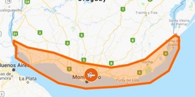 Rige alerta Naranja por vientos fuertes y persistentes