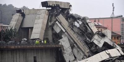 Una treintena de personas han muerto tras el derrumbe de un puente en Génova