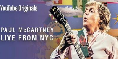 Paul McCartney realizará un concierto mediante YouTube