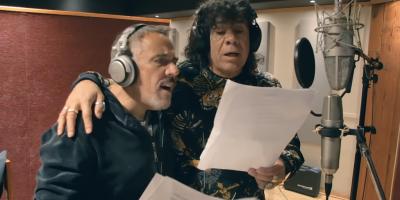 """Alejandro Lerner y la Mona Jiménez en la versión cuartetera de """"Todo a Pulmón"""""""