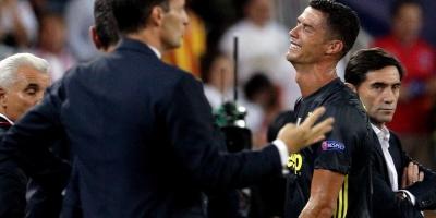 Cristiano llora; el Madrid apabulla