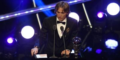 Luka Modric gana el The Best con el 29,05 % de los votos