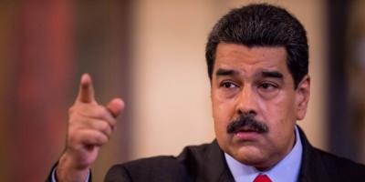 """Maduro deplora sanción de EEUU contra su esposa y pide que le """"ataquen"""" a él"""
