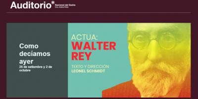 """Rinden homenaje a Unamuno en Uruguay con obra de teatro """"Como decíamos ayer"""""""