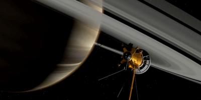 """Luna de Saturno """"Titán"""" tiene gigantes tormentas de polvo, según observaciones de Cassini"""