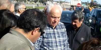 Ministro Rossi se compromete a colaborar desde el gobierno para la realización de obras en San José
