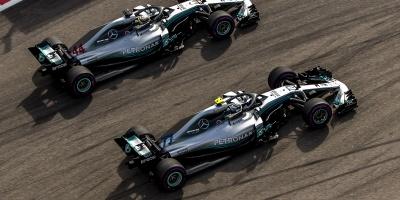 Bottas cede a la jerarquía de Hamilton