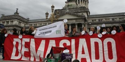 """Inician acampada frente a Congreso argentino contra el presupuesto """"del FMI"""""""