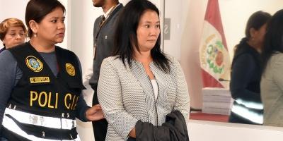 Keiko Fujimori queda detenida por las presuntas donaciones de Odebrecht