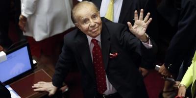 Confirman cuatro años de cárcel contra Menem por sobresueldos en su Gobierno