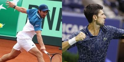Pablo Cuevas es 66 y Djokovic se acerca a Nadal