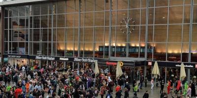 Policía alemana desaloja estación de tren en Colonia por suceso con rehenes