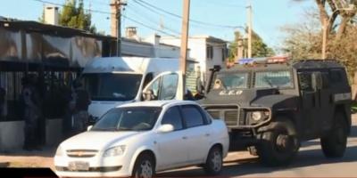 La Policía realiza más de 30 allanamientos en la zona de Villa Española
