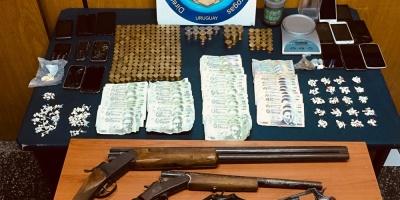 Un total de 11 detenidos tras allanamientos e incautación de armas en Cordón