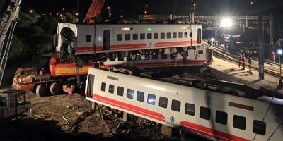 Tren que descarriló en Taiwán, con 18 muertos, tuvo falta potencia eléctrica