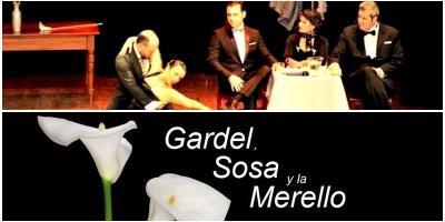 Por primera vez juntos Gardel, Sosa y la Merello en un musical