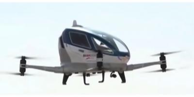 Los taxis voladores, ya no serían únicamente parte de la ciencia ficción