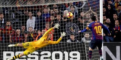 Messi alcanza a Suárez en la tabla de goleadores