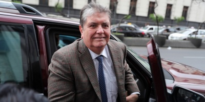 Fiscal solicita impedimento de salida de Perú para Alan García, según medios