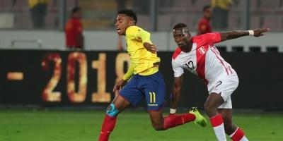 Un sólido Ecuador derrota a Perú
