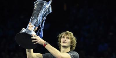 Zverev se corona nuevo campeón del Master de Londres