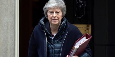 """May advierte de que el """"brexit"""" estaría en peligro si se rechaza el acuerdo"""
